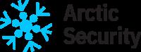 ArcticSecurity logo text blue